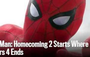 Spider-Man: Homecoming 2 Starts Where Avengers 4 Ends