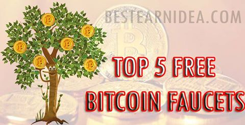 Top 5 Free Bitcoin Faucets - bestearnidea.com