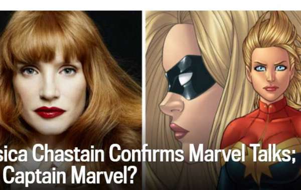 New Movie News Jessica Chastain Confirms Marvel Talks; Is She Captain Marvel?
